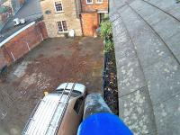 2  GUTTER CLEANING BEFORE 2